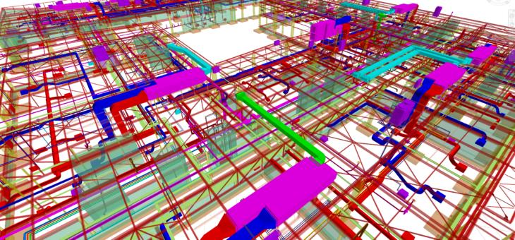 Projekt wykonawczy pełnobranżowy sanitarny budynku dydaktycznego wykonany w technologii BIM – pow. 5000m2.