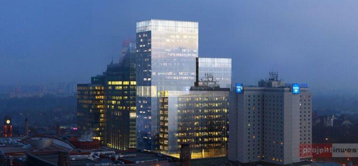 Zespół budynków – Andersia Silver (pow. użytkowa ok 40 000m2, 29 kondygnacji i wysokoci 116m).